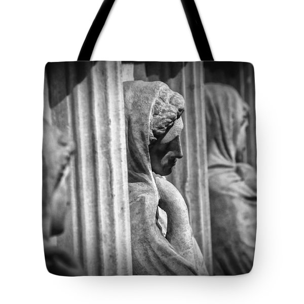 Sarcophagus Of The Crying Women Tote Bag by Taylan Apukovska