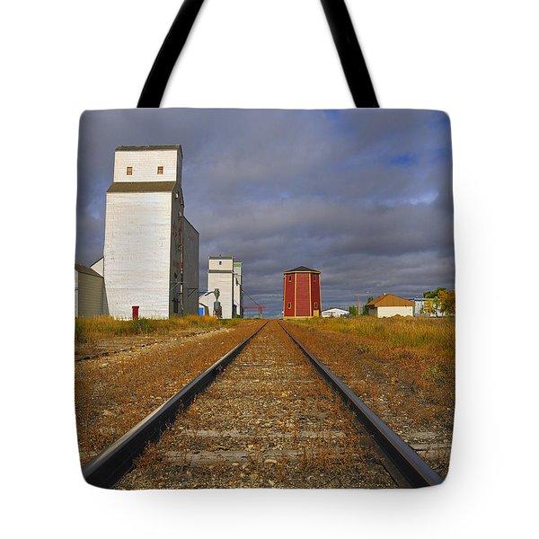 Saskatchewan Prairies Tote Bag