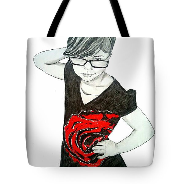 Sassy Izzy Tote Bag by Justin Moore