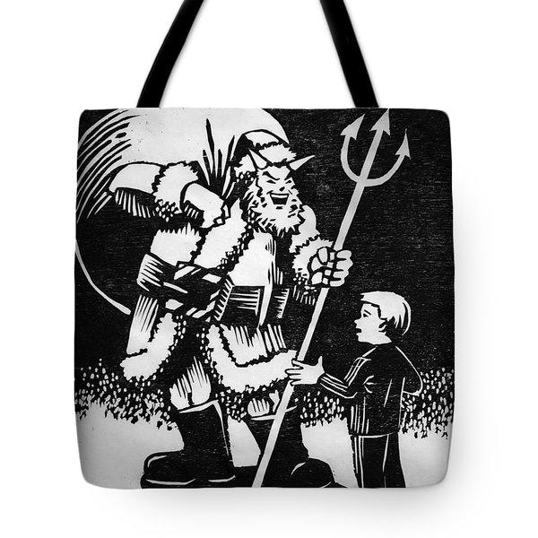 Satan Santa Tote Bag