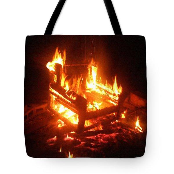 Tote Bag featuring the photograph Satan's Arm Chair by Shana Rowe Jackson