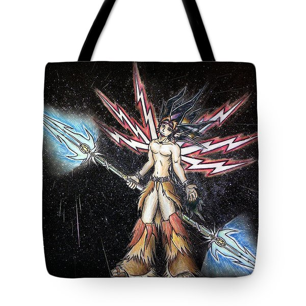 Satari God Of War And Battles Tote Bag