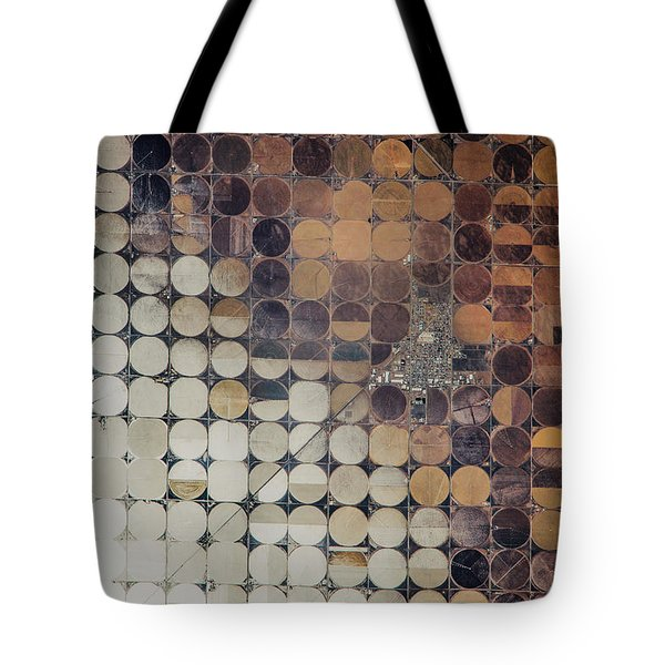 Satellite View Of Center Town Tote Bag