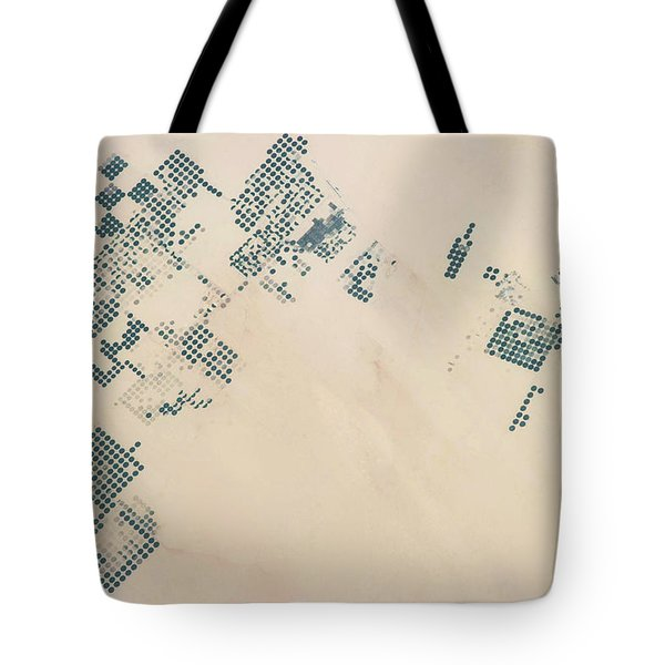 Satellite View Of Fields In North Tote Bag