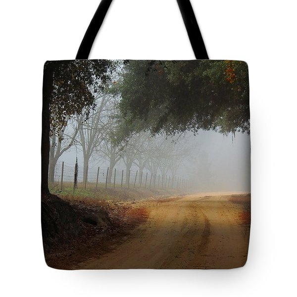 Satilla River Road Tote Bag