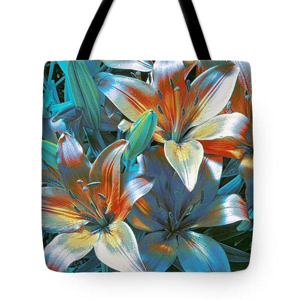 Satin Tote Bag by Kathleen Struckle