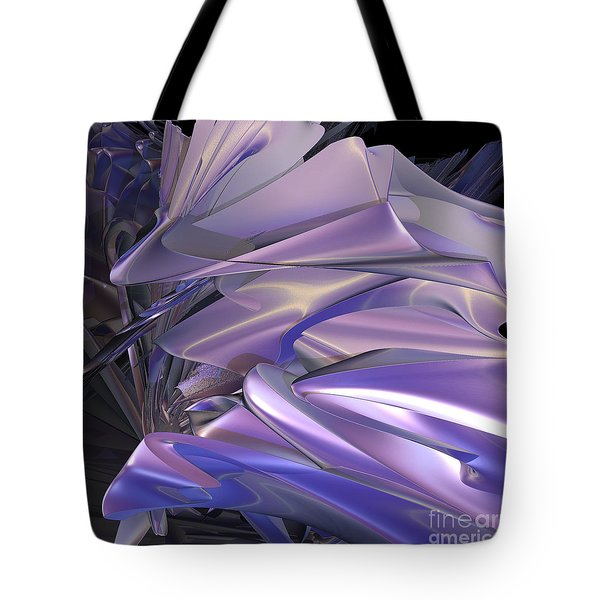 Satin Wing By Jammer Tote Bag by First Star Art