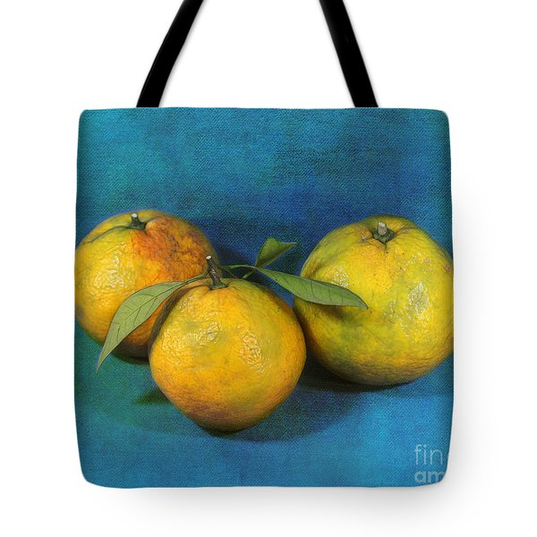 Satsumas Tote Bag by Judi Bagwell