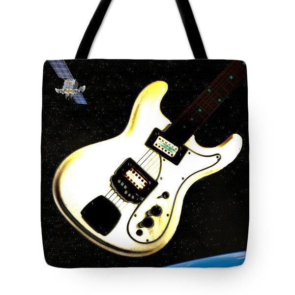 Sattelite  Tote Bag by Bill Cannon