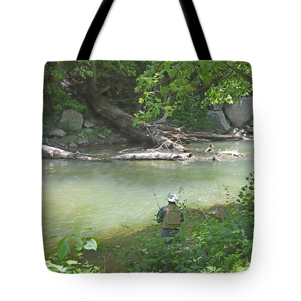 Tote Bag featuring the photograph Saturday Afternoon by Judith Morris