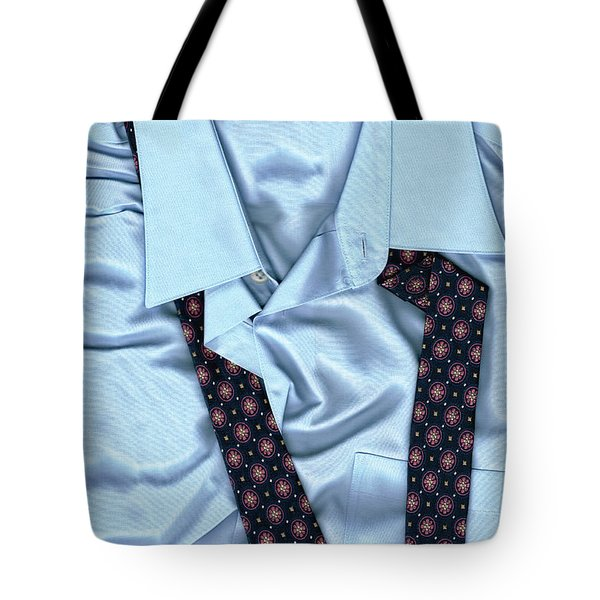 Saturday Morning - Men's Fashion Art By Sharon Cummings  Tote Bag