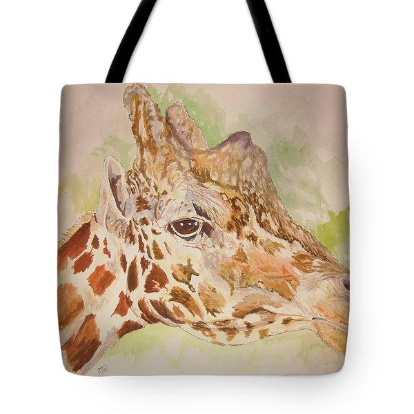 Savanna Giraffe Tote Bag