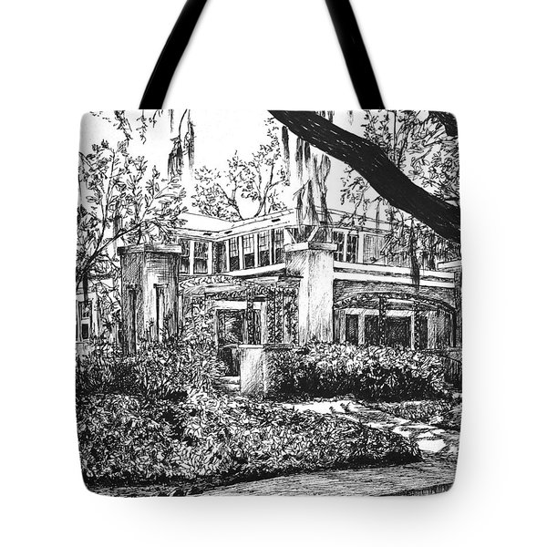 Savannah Living Tote Bag by Rachel Hames