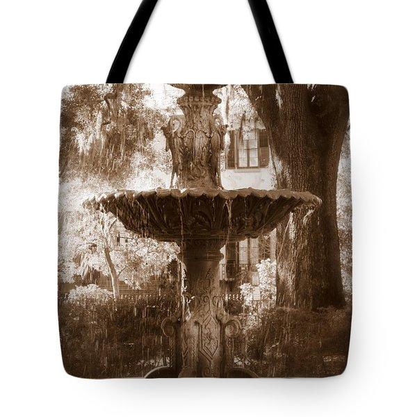 Savannah Romance Tote Bag by Carol Groenen