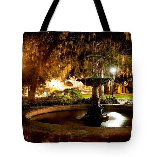 Savannah Romance Tote Bag by Renee Sullivan