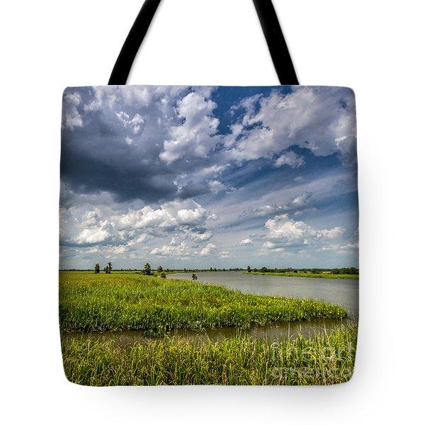 Tote Bag featuring the photograph Savannah Wildlife Refuge  by Bernd Laeschke