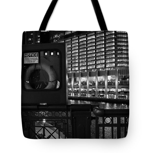 Save A Life On The River Tote Bag