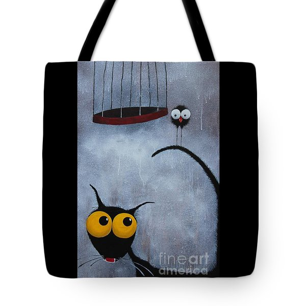 Save The Bird Tote Bag by Lucia Stewart