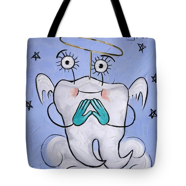 Saved Tooth Tote Bag by Anthony Falbo