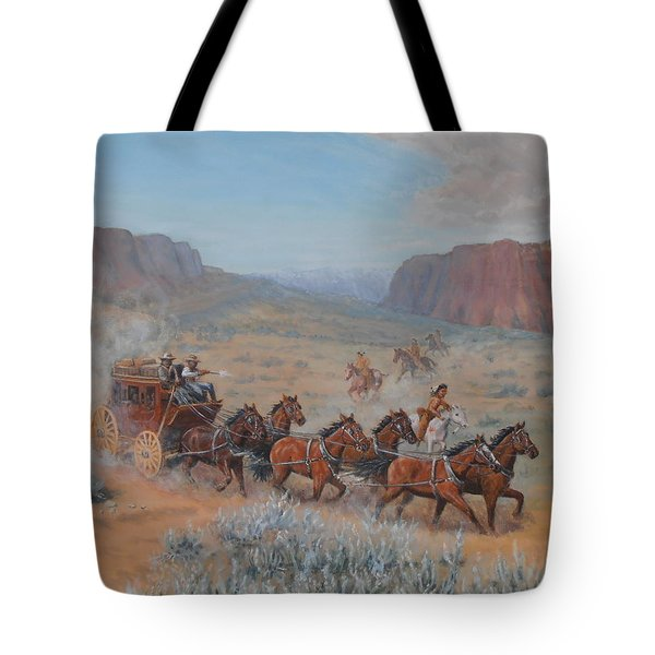 Saving The Nigh Leader Tote Bag by Elaine Jones