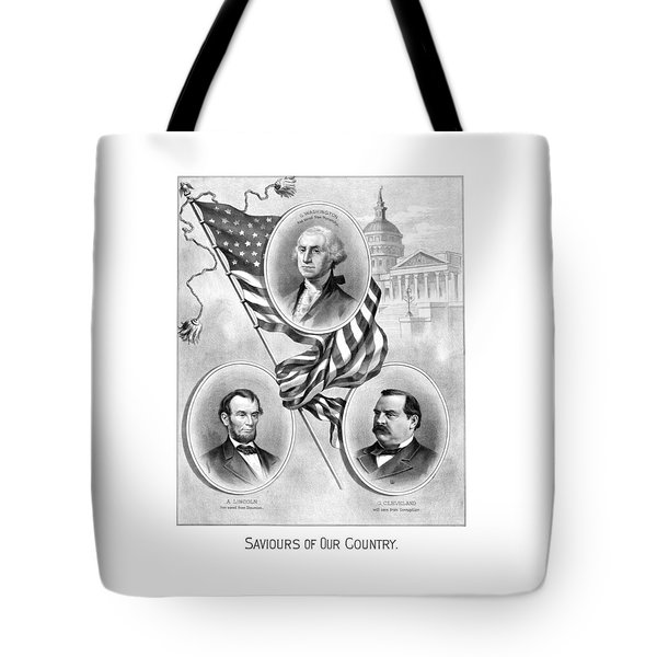 Saviours Of Our Country  Tote Bag by War Is Hell Store