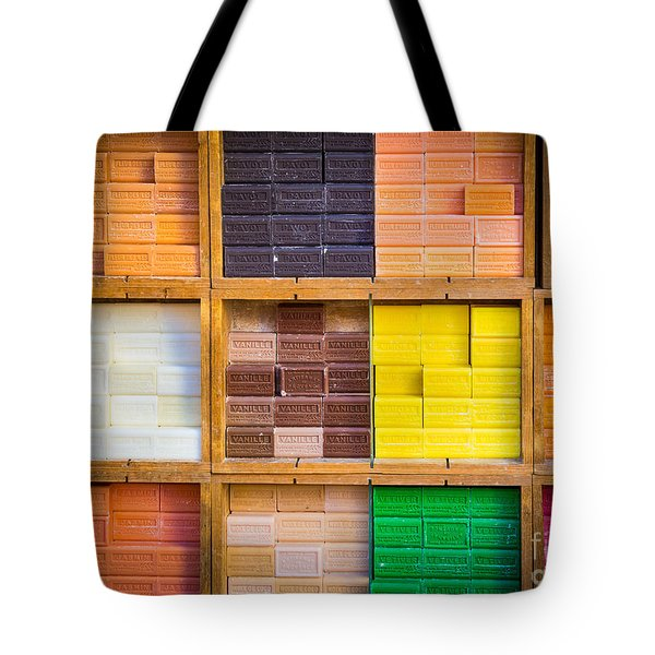 Savons Provencale Tote Bag by Inge Johnsson
