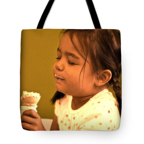 Savour The Flavour Baby Tote Bag by Sandi Mikuse