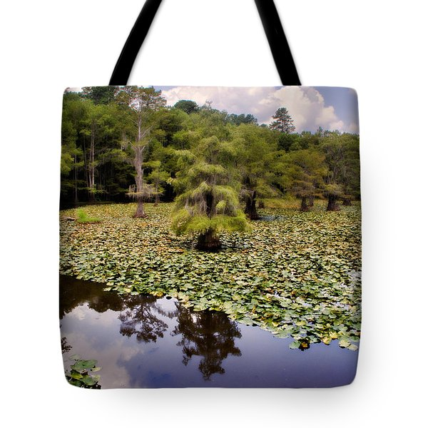Tote Bag featuring the photograph Saw Mill In July by Lana Trussell