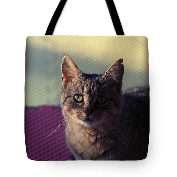 Saw Tooth Tote Bag