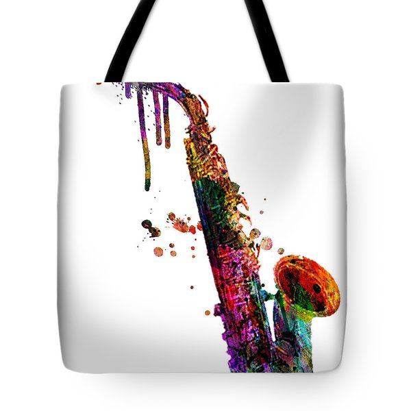 Saxophone 2 Tote Bag