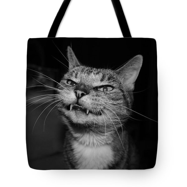 Say Cheese Tote Bag by Catie Canetti