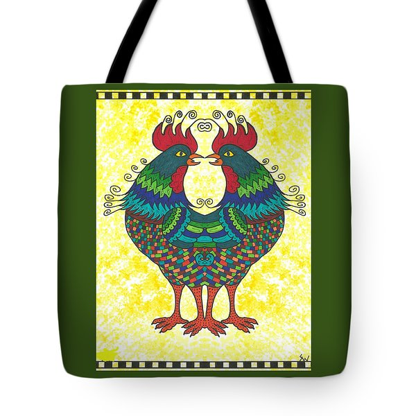Say What Tote Bag by Susie WEBER