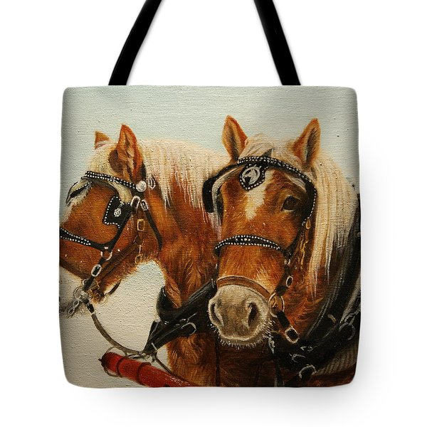 Tote Bag featuring the painting Say What? by Tammy Taylor