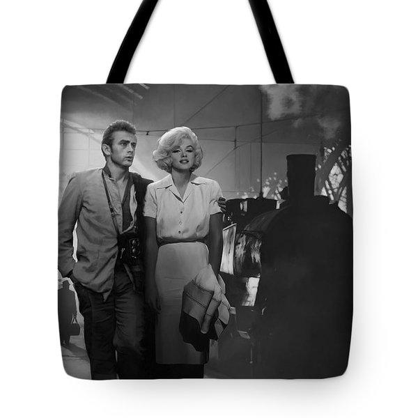 Saying Farewell Tote Bag by Chris Consani