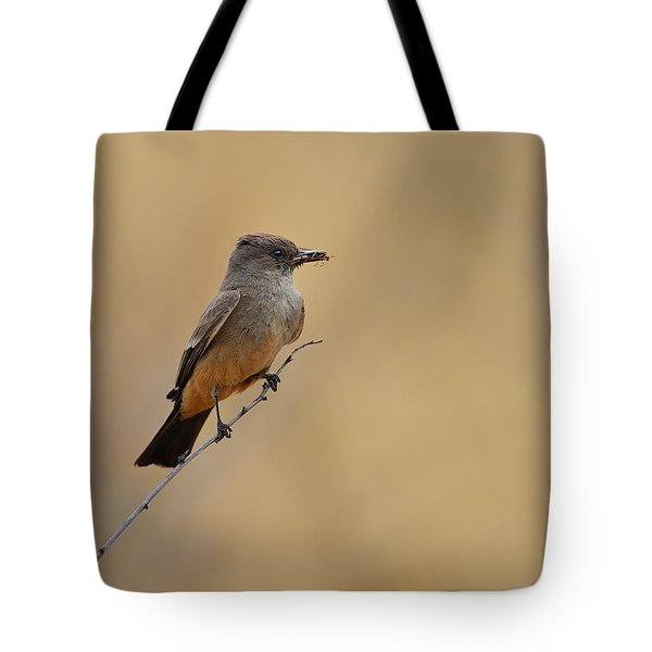 Say's Phoebe Tote Bag by Tony Beck