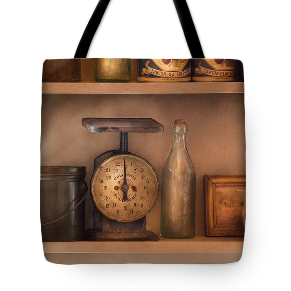 Scale - The Family Scale Tote Bag by Mike Savad