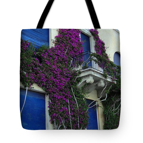 Tote Bag featuring the photograph Scaling The Wall by Natalie Ortiz