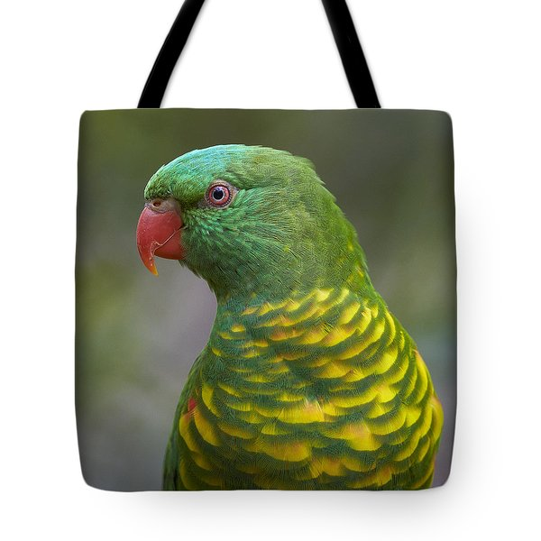 Scaly-breasted Lorikeet Australia Tote Bag