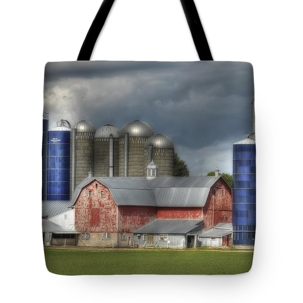 Scandinavia Skyscapers Tote Bag