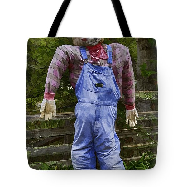 Scarecrow Tote Bag by John Haldane