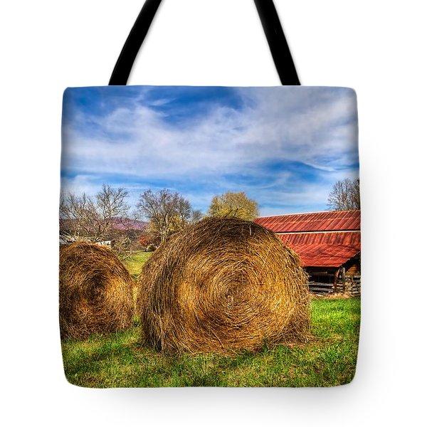 Scarecrow's Dream Tote Bag by Debra and Dave Vanderlaan