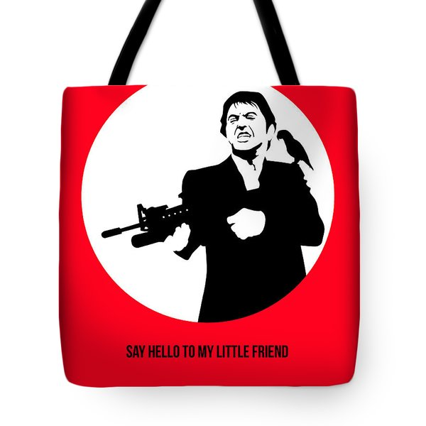 Scarface Poster 2 Tote Bag