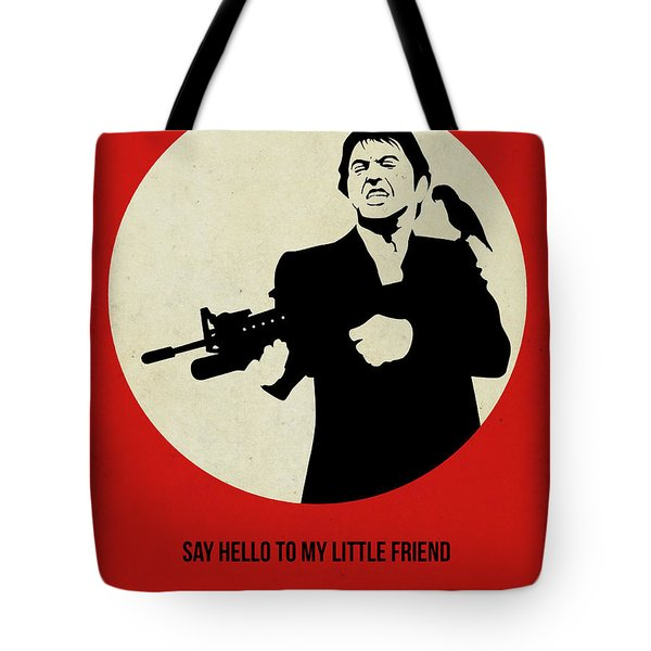 Scarface Poster Tote Bag