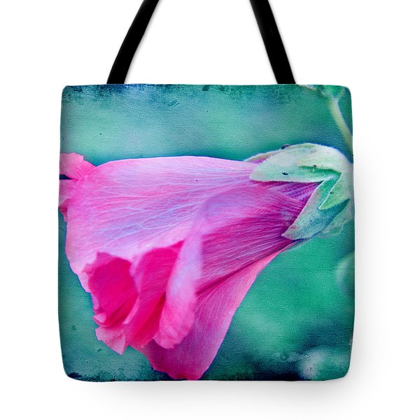Scarlet Mallow Tote Bag