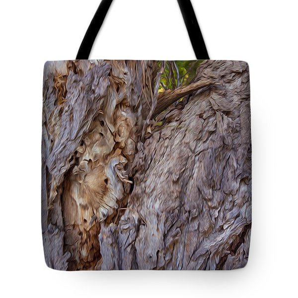 Scarred And Beautiful Tote Bag by Omaste Witkowski