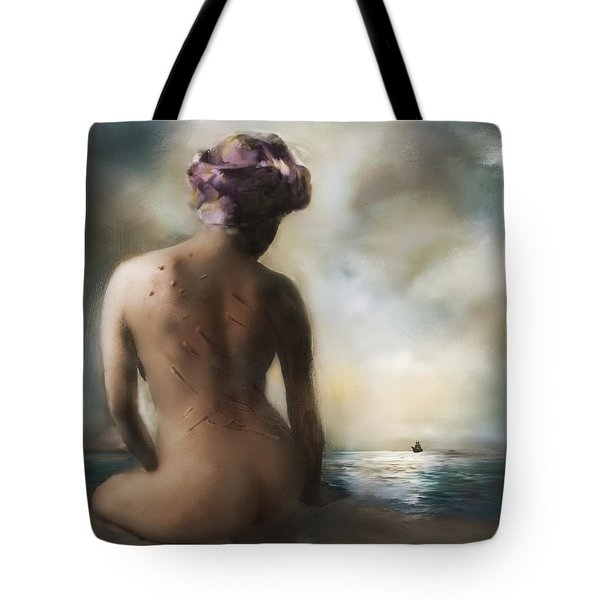 Scars And Stripes Tote Bag