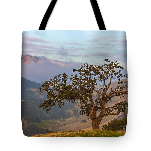 Scattered Clouds At Sunrise Tote Bag by Marc Crumpler