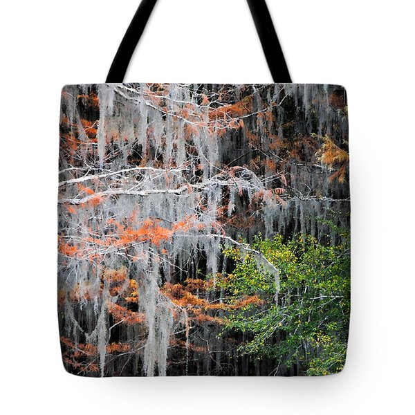 Tote Bag featuring the photograph Scattered Rust by Lana Trussell