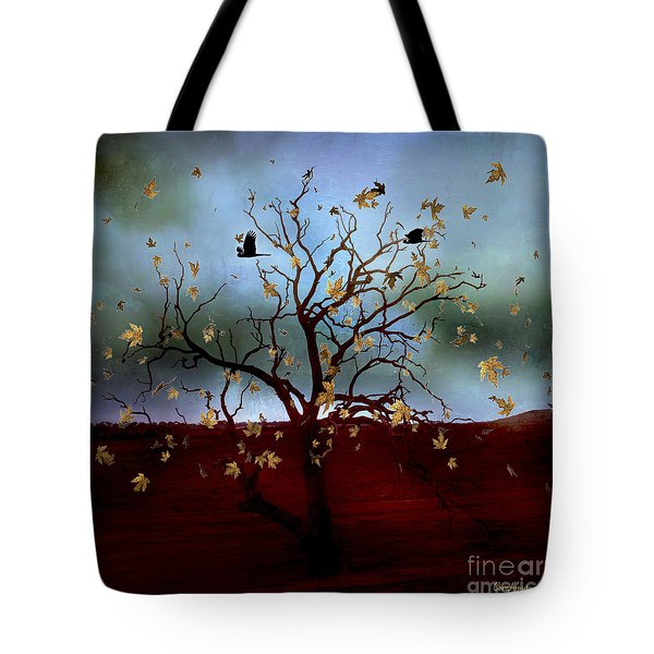 Tote Bag featuring the photograph Scattered Thoughts by Chris Armytage