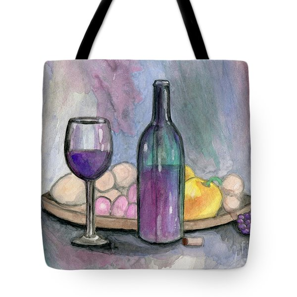 Scene From An Italian Restaurant Tote Bag